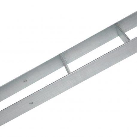 H-Pfostenanker für Rund- & Vierkantpfosten, verzinkt