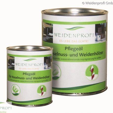 Weidenprofi Holzöl für Haselnuss- und Weidenzäune 1