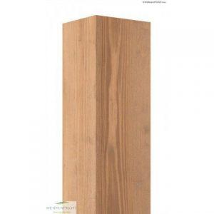 Holzpfosten Kiefer vierkant 7x7 cm, braun